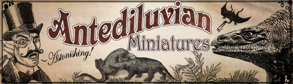 header for Antediluvian Miniatures